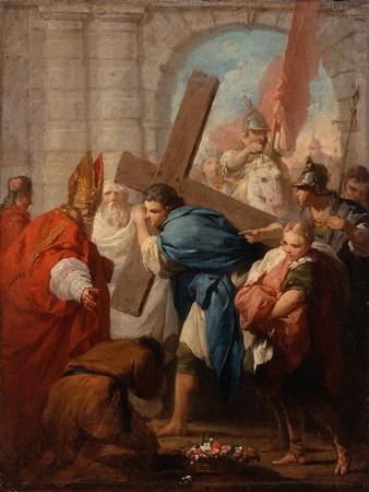 Heraclius Carrying the Cross, c.1728