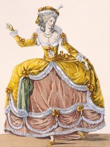 Grande Robe a La Sultane', Plate No.167 from 'Galeries Des Modes Et Costumes Francais', C.1778-87 by Pierre Thomas Le Clerc