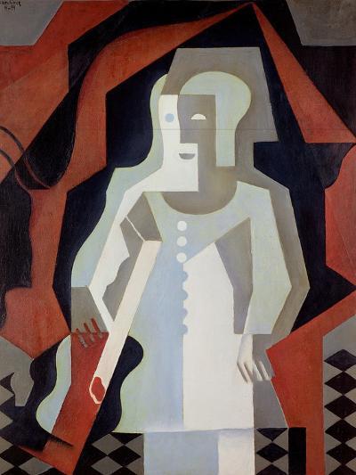 Pierrot, 1919-Juan Gris-Giclee Print