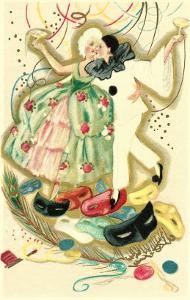 Pierrot and Marie Antoinette