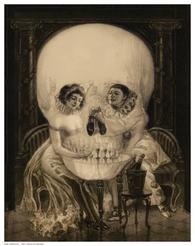 Pierrot's Love--Art Print