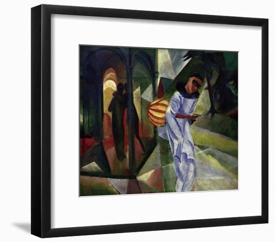 Pierrot-Auguste Macke-Framed Giclee Print