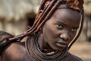 Himba girl by Piet Flour