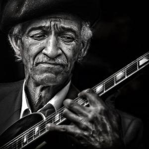 the guitarist by Piet Flour
