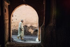 The Streets of Marrakesh by Piet Flour