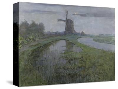 Oostzijdse Mill Along the River Gein by Moonlight, C. 1903