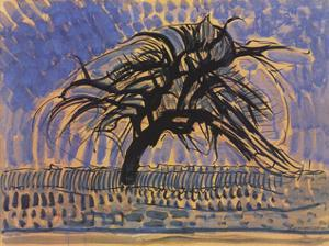 Blue Tree by Piet Mondrian