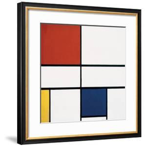 Composition C (no.III), with Red, Yellow and Blue, 1935 by Piet Mondrian