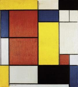 Composition II, 1920 by Piet Mondrian