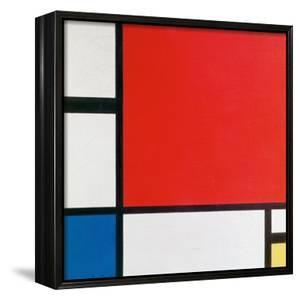Composition II in Red, Blue, and Yellow by Piet Mondrian
