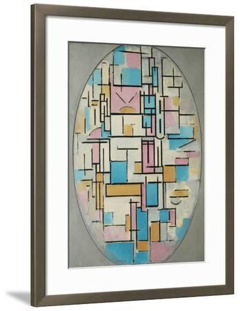 Composition in Oval with Color Planes 1, 1914
