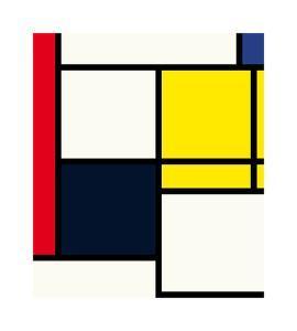 Composition neoplastique N. 5, 1924 by Piet Mondrian