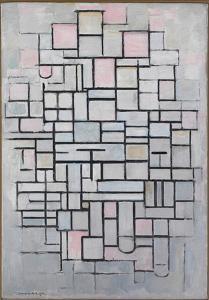 Composition No.6., 1914 by Piet Mondrian