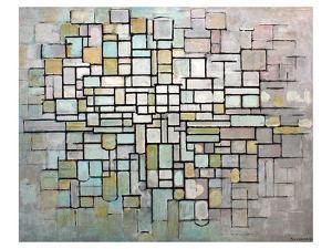 Composition No. II by Piet Mondrian