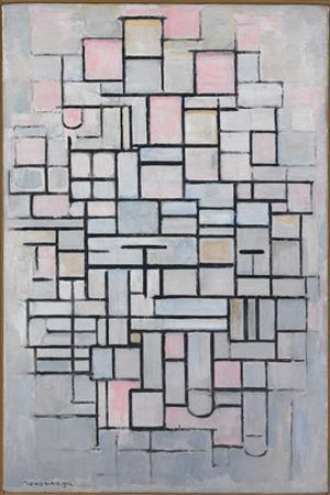 Composition No. IV by Piet Mondrian