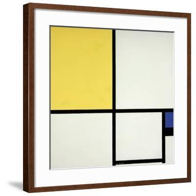 Composition with Blue and Yellow