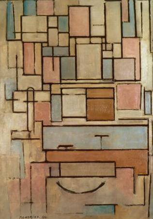 Composition with Color Areas by Piet Mondrian