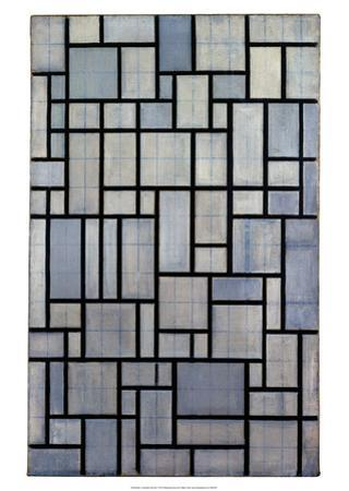 Composition with Grid 2, 1915