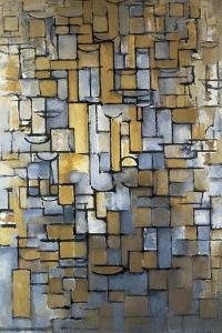 Composition XIV 1913 (painting) by Piet Mondrian