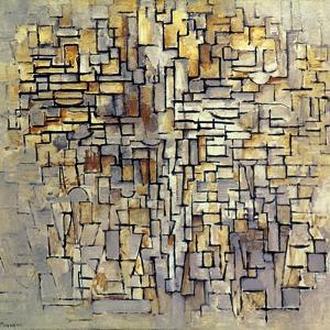 Mondrian: Composition, 1913 by Piet Mondrian