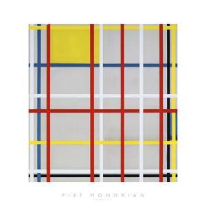 New York City, 3 by Piet Mondrian