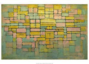 Tableau no. 2: Composition no. V, 1914 by Piet Mondrian