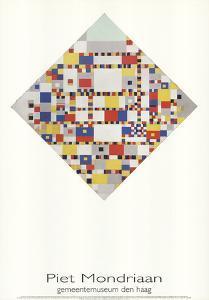 Victory Boogie Woogie by Piet Mondrian