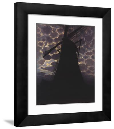 Windmill at Night