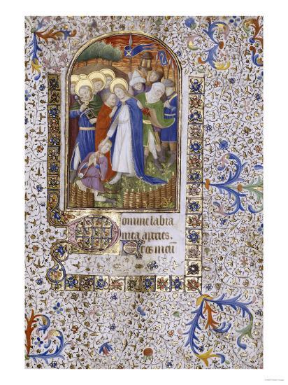 Pieta, Book of Hours, in Latin, circa 1430--Giclee Print