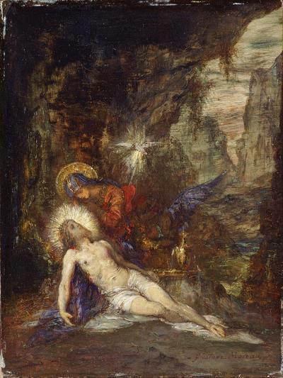 Pietà, C. 1876-Gustave Moreau-Giclee Print