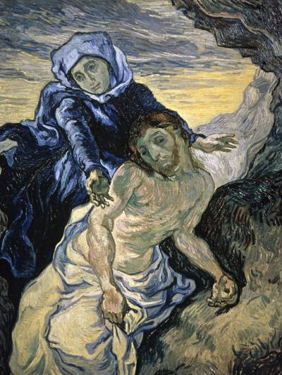 Pieta-Vincent van Gogh-Giclee Print