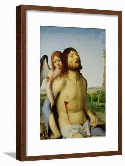 Pieta-Antonello da Messina-Framed Giclee Print