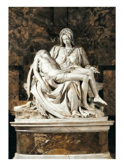 Pieta-Michelangelo-Art Print