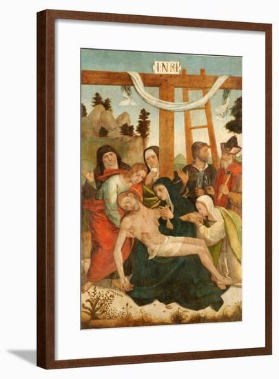 Pietá-Juan De borgoña-Framed Giclee Print