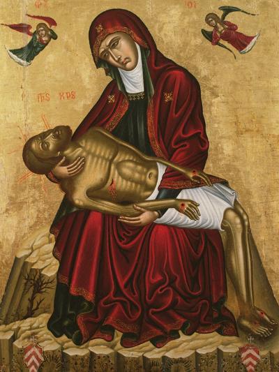 Pieta-Andreas Pavias-Giclee Print