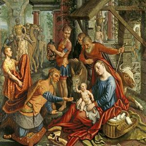The Adoration of the Magi, Central Panel, C.1560 by Pieter Aertsen