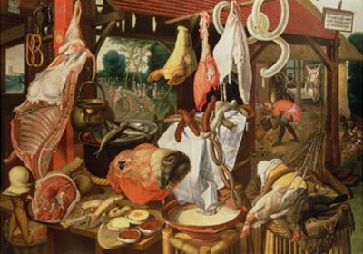The Meat Stall, 1568 by Pieter Aertsen