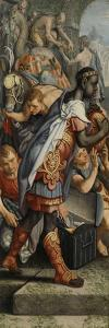 Wing of an Altarpiece with Adoration of the Magi by Pieter Aertsen