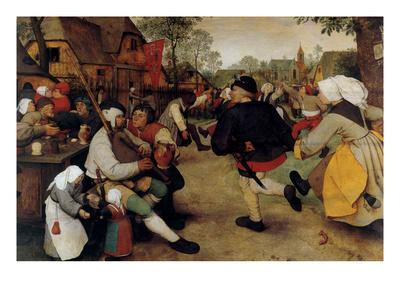 Dance of the Peasants - Detail