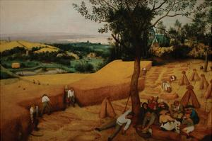 The Harvesters by Pieter Breughel the Elder