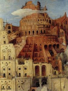 Tower of Babel - Detail by Pieter Breughel the Elder