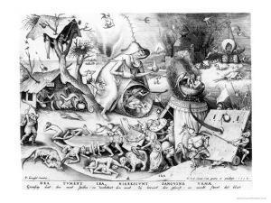 Anger by Pieter Bruegel the Elder