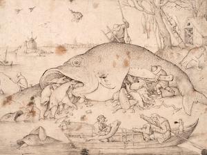 Big Fish Eat Little Fish by Pieter Bruegel the Elder