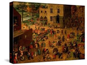 Children's Games (Kinderspiele), 1560 by Pieter Bruegel the Elder
