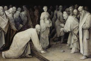 Christ and the Adulteress, 1565 by Pieter Bruegel the Elder