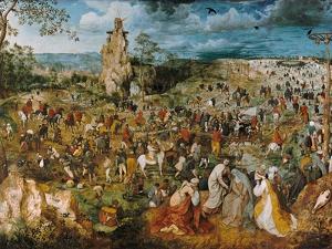 Christ Bearing the Cross, 1569 by Pieter Bruegel the Elder