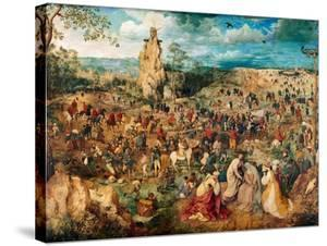 Christ Carrying the Cross, 1564 by Pieter Bruegel the Elder