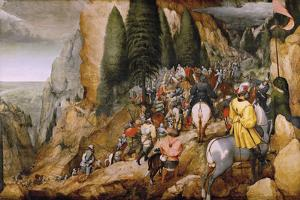 Conversion Of Paul by Pieter Bruegel the Elder
