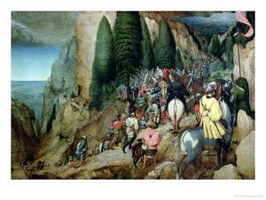 Conversion of St. Paul, 1567 by Pieter Bruegel the Elder