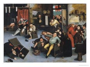 Cutting out the Stone of Madness or an Operation on the Head by Pieter Bruegel the Elder